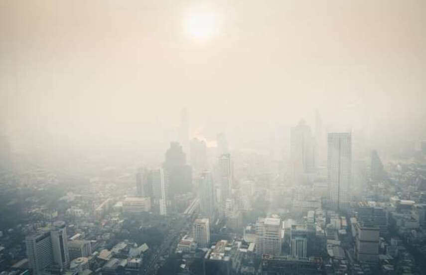 la pollution dans le monde - images troublantes