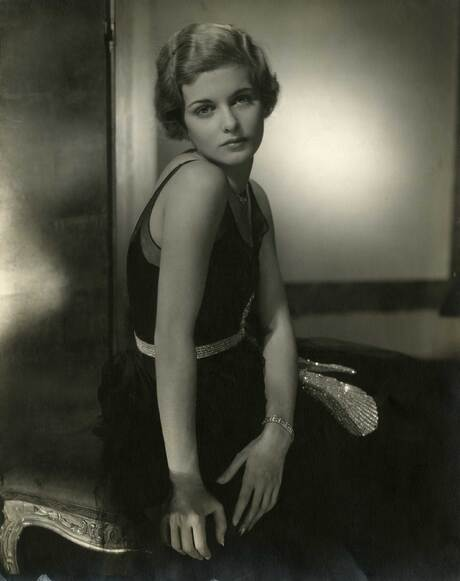 Actress Joan Bennett, 1928 Gelatin silver print Courtesy Condé Nast Archive, New York © 1928 Condé Nast Publications
