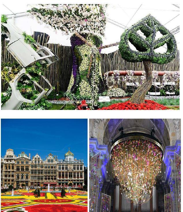Escapade en Belgique : Les Floralies de Gand du 5 au 10 mai 2020 (inscription avant 31/10/19)