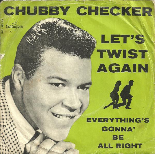 Chubby checker lets twist begin