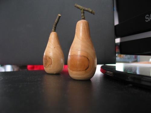 Petites poires en pommier2