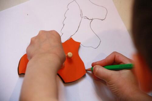 Puzzle Montessori: le cheval