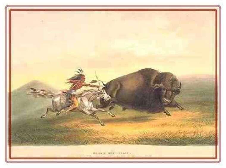 COMMENT VIVENT LES INDIENS ENTRE 1830 ET1840