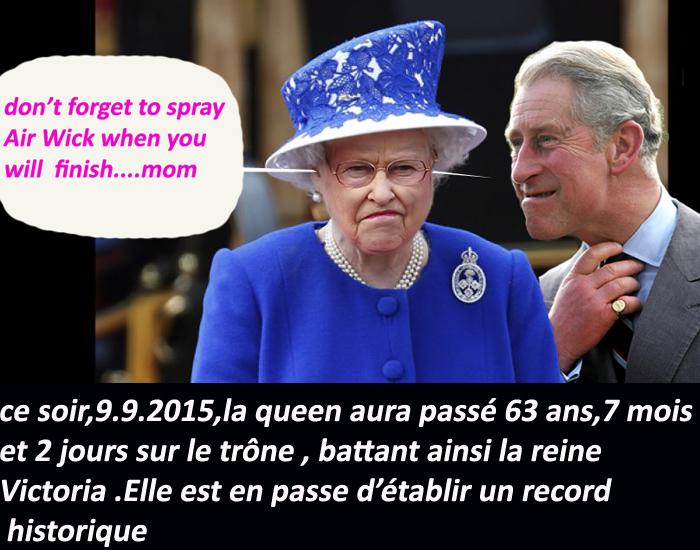 Elizabeth 2/ Record de longévité/