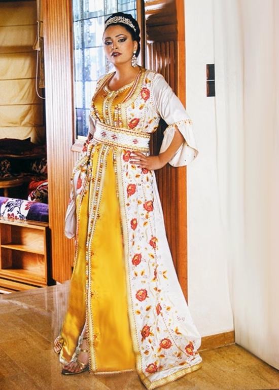 Takchita-marocaine de haute couture TAK-S1002