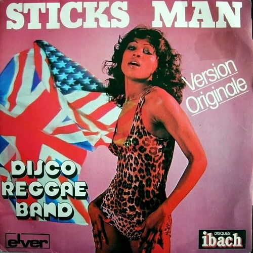 "Disco Reggae Band : "" Sticks Man "" Single SP Ibach Records 60038 [ FR ]"