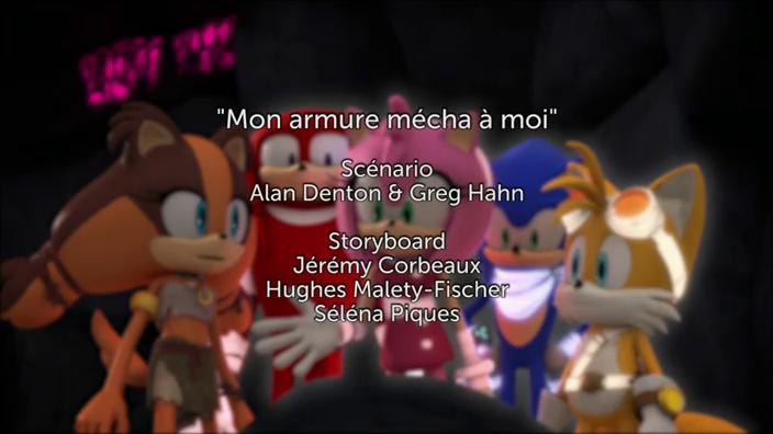 Sonic Boom - 2x13 - Mon armure mécha