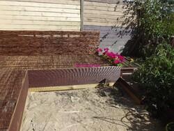Avancée des travaux sur la terrasse