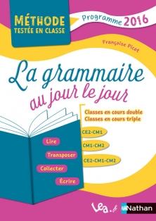 Grammaire au jour le jour CE2 CM1 CM2 Picot
