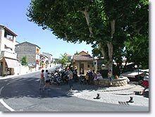Gréoux les Bains, place