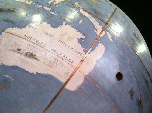 Les globes de Coronelli à la Bibliothèque nationale de France.