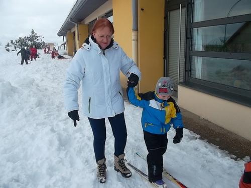 Ski pour la première fois