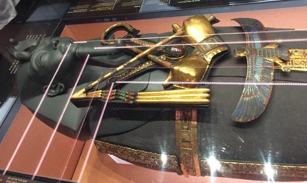 Exposition Toutânkhamon à Paris