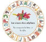 La roue de l'alphabet - jeu -Taoki