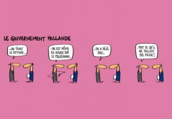 Le gouvernement de Hollande - par Mix & Remix
