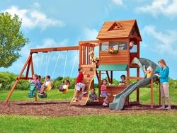 Jouets de plein air - et si vous aviez un parc dans votre jardin ?