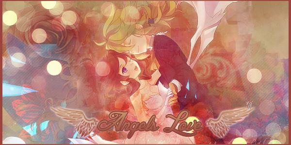 Angels Love [N & White]