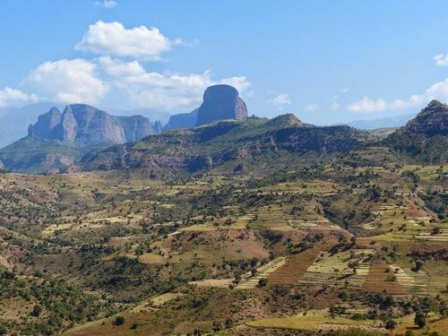 de fabuleux paysages de montagne