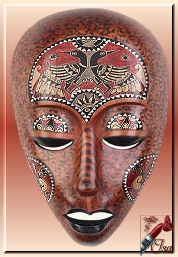 AF0003 - Tube masque africain