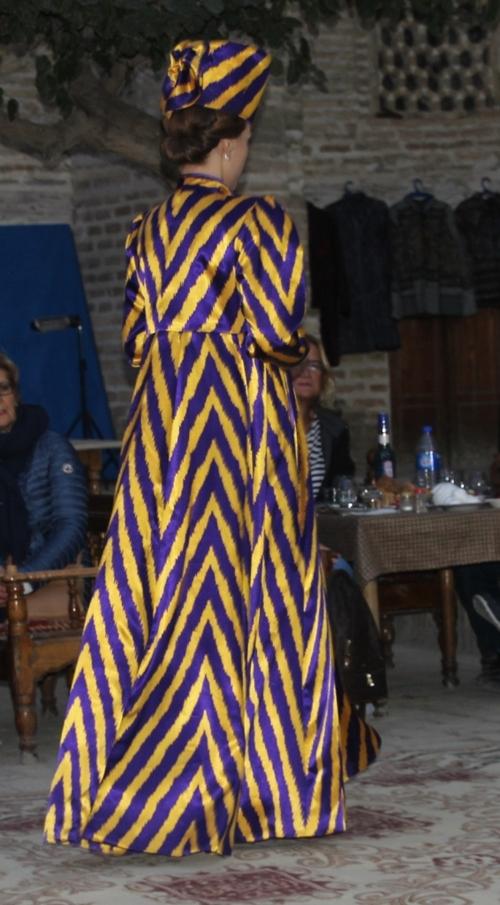 Boukhara, défilé de mode