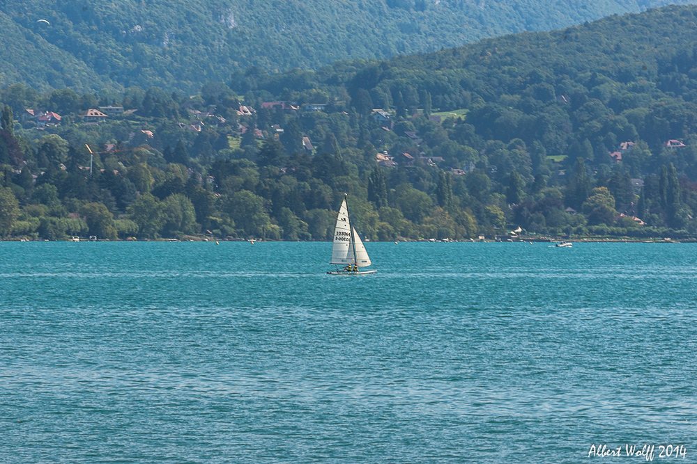 Annecy,  que d'eau
