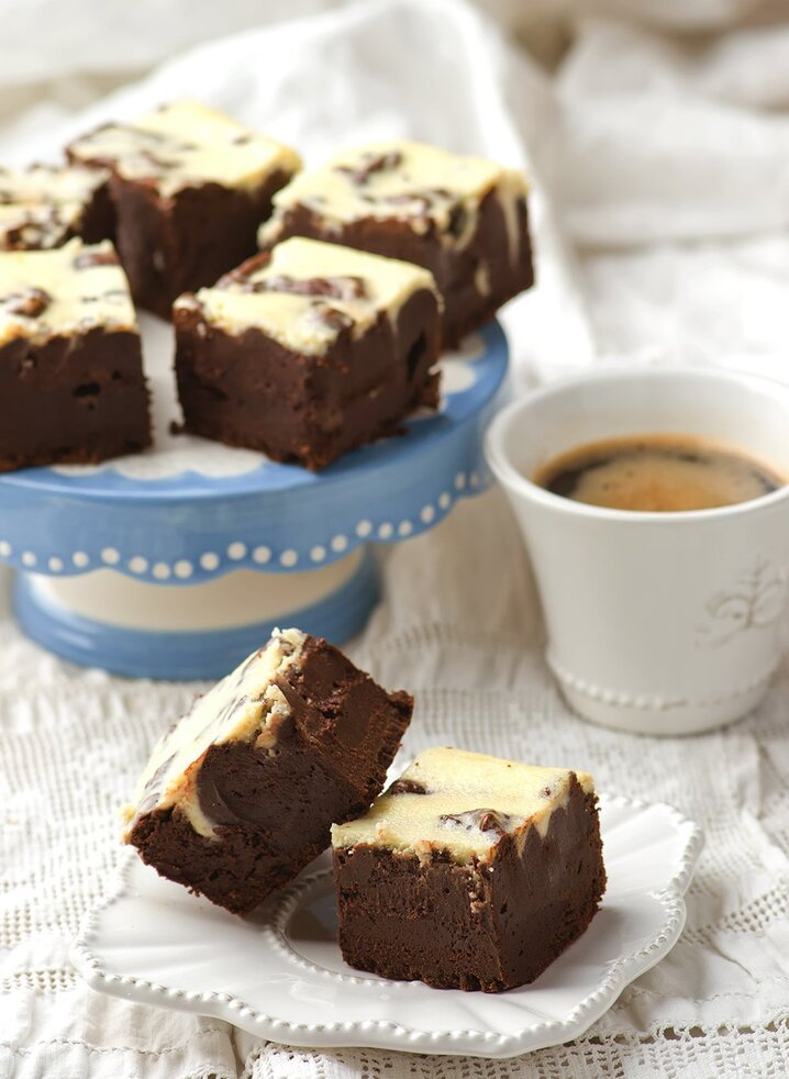 Recette Mocha Brownies - Marie Claire