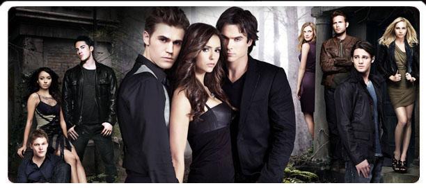 Site pour les fans de The vampire diaries et Journal d'un vampire