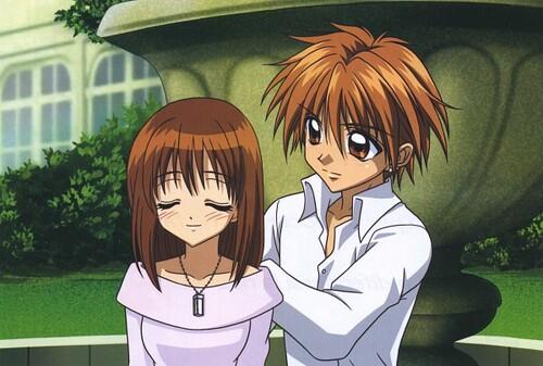Mikaru Amagi et Kaito Domotô
