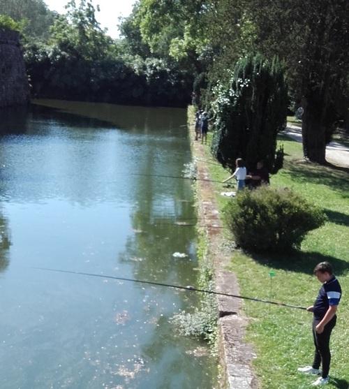 Animation pêche avec le collège