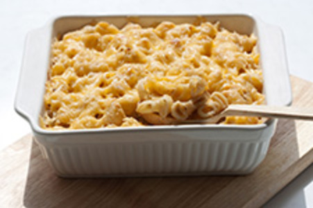 Mac and cheese (macaronis au fromage)