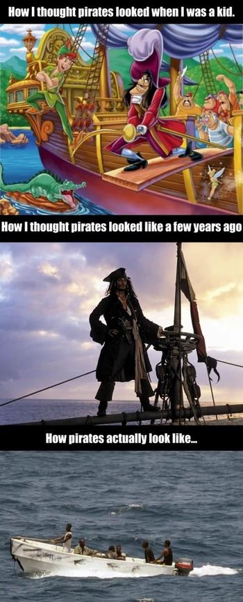 a quoi ressemblent les pirates