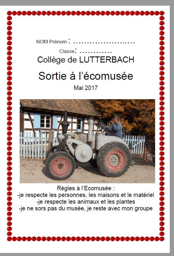 Ecomusée d'Alsace questionnaire de visite