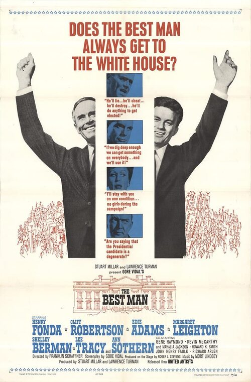 THE BEST MAN BOX OFFICE USA 1964