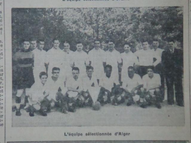 Sélection d'Alger avec Missoum et Firoud MCA