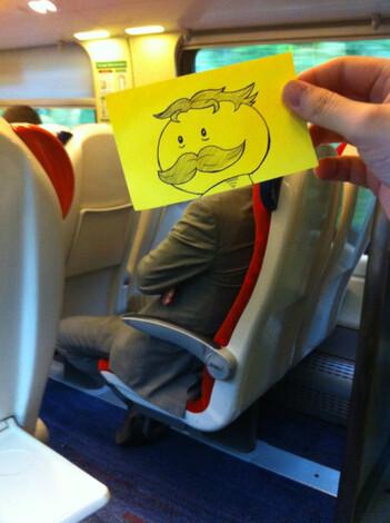 Le coucou du vendredi, haïku, senryû, le train...