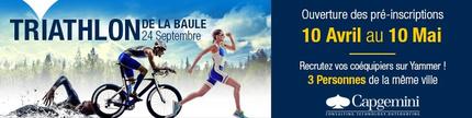 Capgemini de nouveau en force au Tri-Relais de La Baule 2016