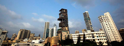 Savez que la maison la plus chère est en Inde