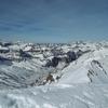 Du sommet de las Arroyeras, massif d'Aspe et Visaurin
