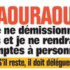 Mercredi 25.1.2017 CAN Raouraoua e démissionne pas