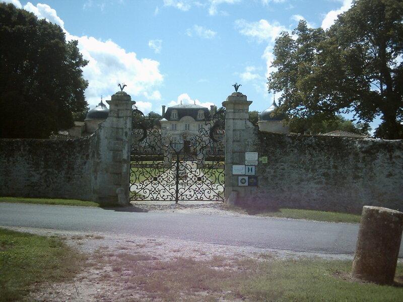 Promenade a   Sauternes,château de Malle