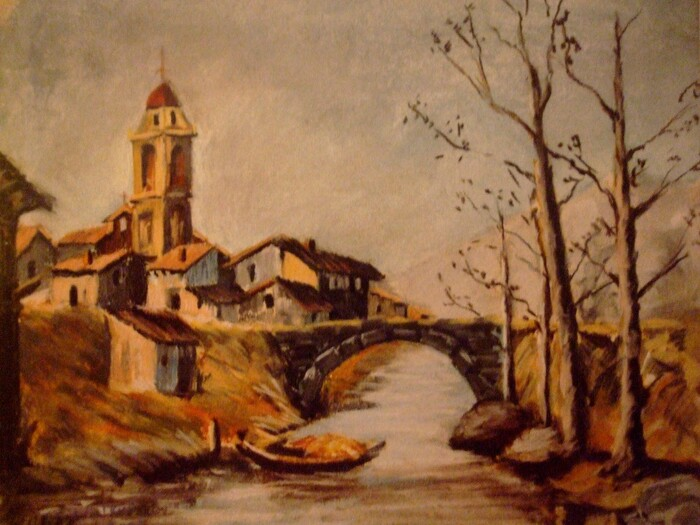 village espagnol de pêcheurs n° 2