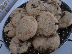 Cramique aux pépites de chocolat au sucre en grains
