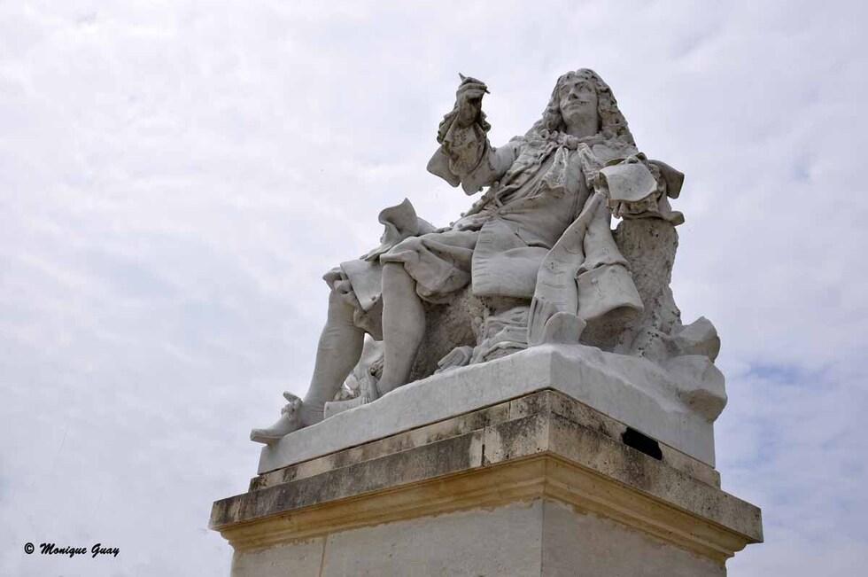 Quelques statues du Parc du château de Chantilly
