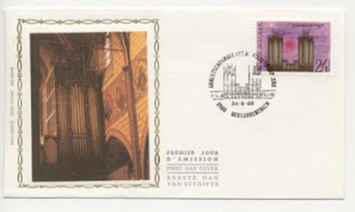 Inauguration de l'orgue Anneessens de la Sint-Bartholomeuskerk de Geraardsbergen