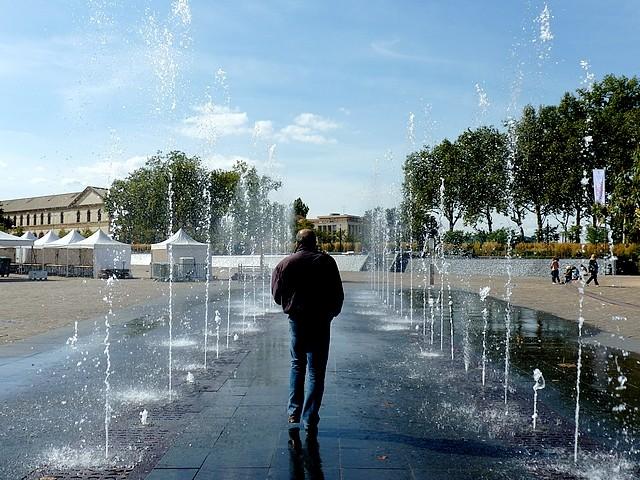 La fontaine de la République à Metz 1 Marc de Metz 20 09