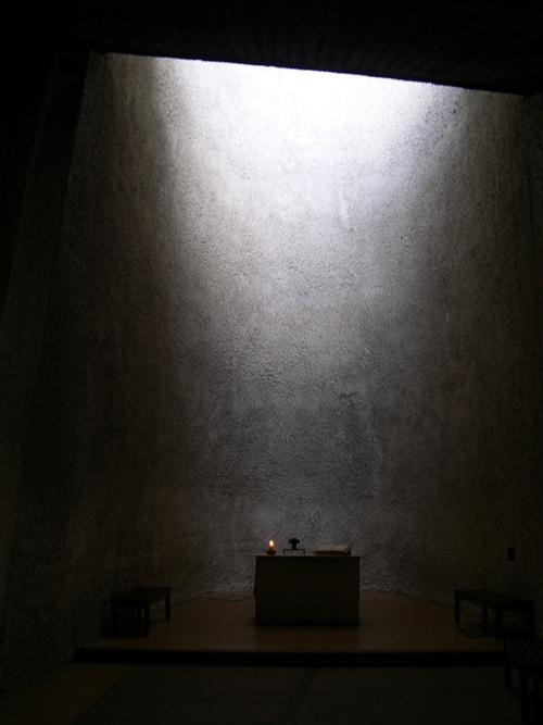 Le Corbusier église de Ronchamp