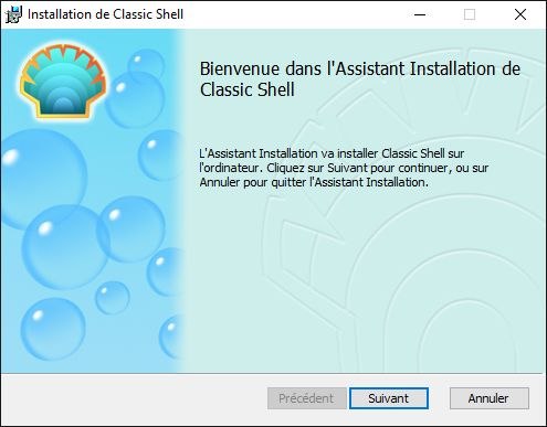 Comment remettre l'ancien menu démarrer de Windows 7 dans Windows 8.1 et Windows 10 , avec Classic Shell (TRES UTILE !!)