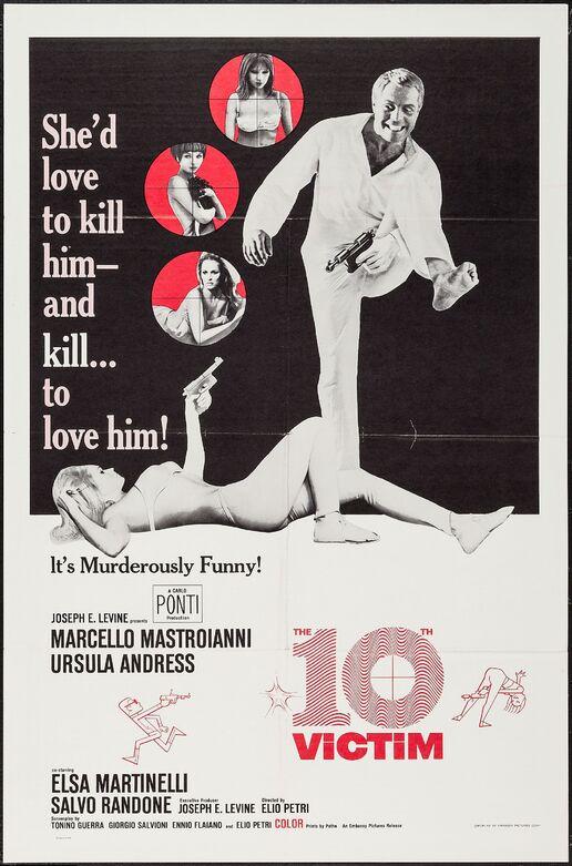 THE 10th VICTIM BOX OFFICE USA 1965