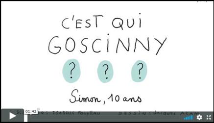 1 jour 1 actu : C'est qui Goscinny ?