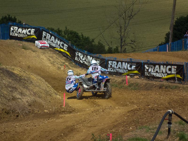 Championnat du monde 2013 de side car cross à iffendic (88)